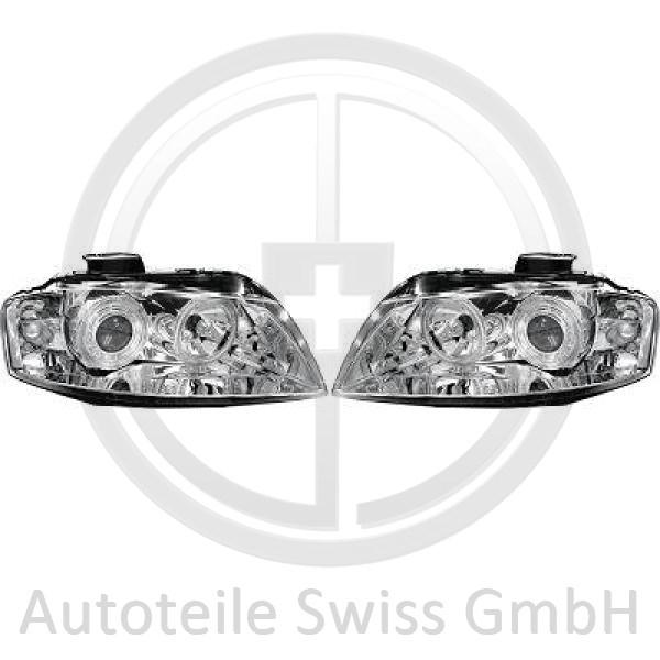 SCHEINWERFER SET, Audi, A3 03-05