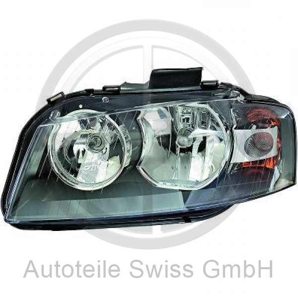 SCHEINWERFER LINKS , Audi, A3 03-05