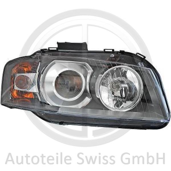 SCHEINWERFER RECHTS , Audi, A3 03-05
