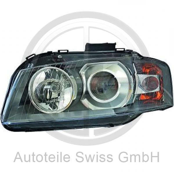 SCHEINWERFER LINKS, Audi, A3 03-05