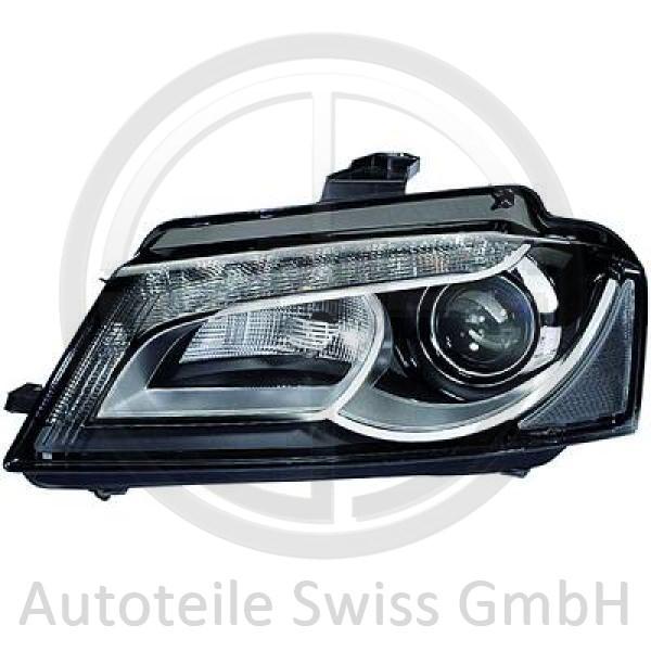 XENON SCHEINWERFER RECHTS, Audi, A3 Lim./Sportb./Cabrio 08-12