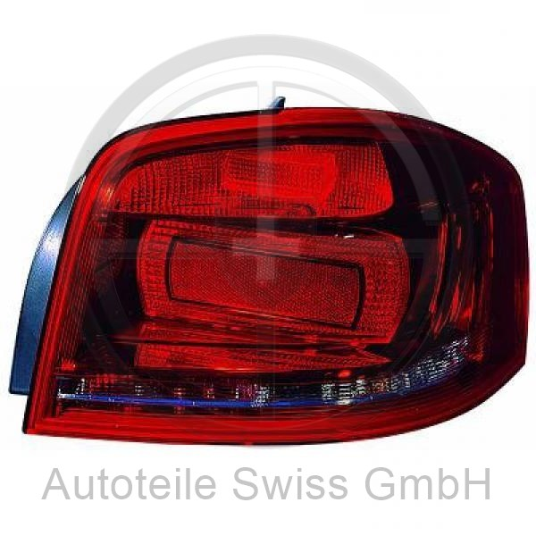 RÜCKLEUCHTE RECHTS , Audi, A3 Lim./Sportb./Cabrio 08-12
