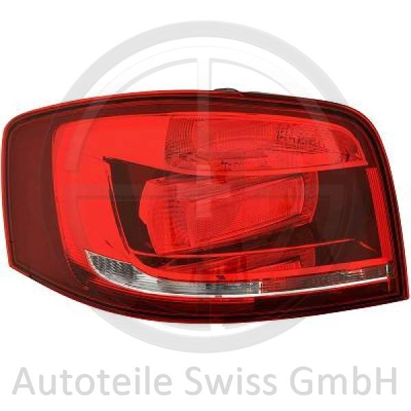 RÜCKLEUCHTE LINKS , Audi, A3 Lim./Sportb./Cabrio 08-12