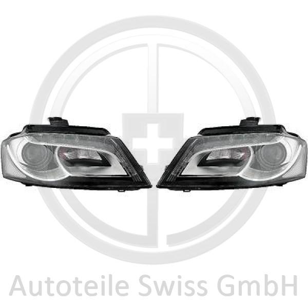 SCHEINWERFER SET, Audi, A3 Lim./Sportb./Cabrio 08-12