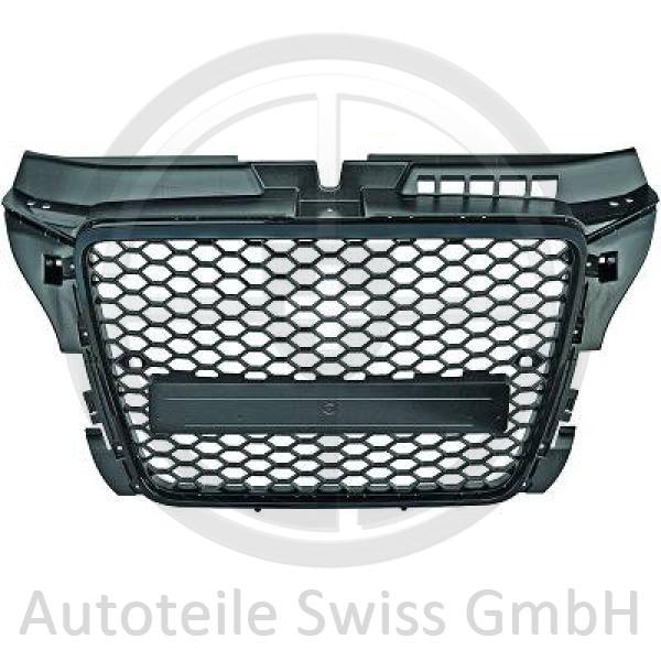 SPORT GRILL , Audi, A3 Lim./Sportb./Cabrio 08-12