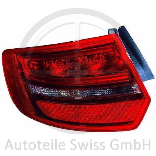 RÜCKLEUCHTE RECHTS AUßEN, Audi, A3 Lim./Sportb./Cabrio 08-12
