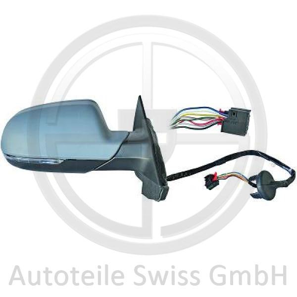 SPIEGEL LINKS, Audi, A3 Lim./Sportb./Cabrio 08-12