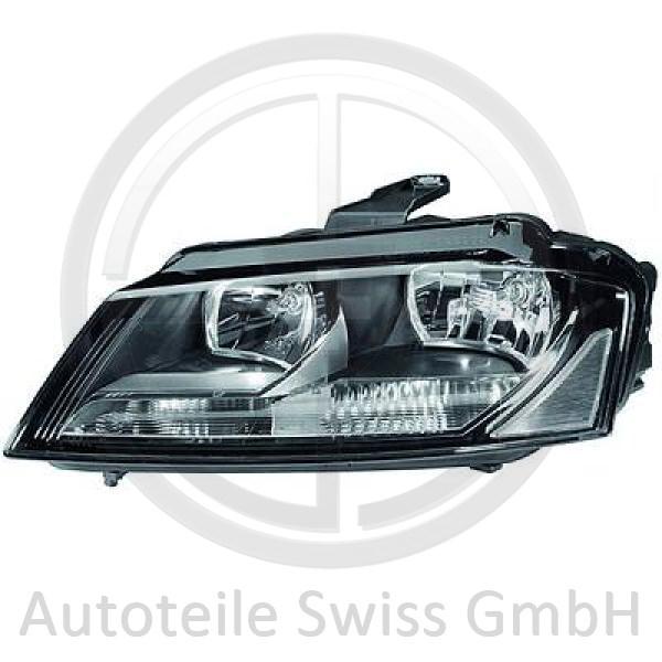 SCHEINWERFER LINKS , Audi, A3 Lim./Sportb./Cabrio 08-12