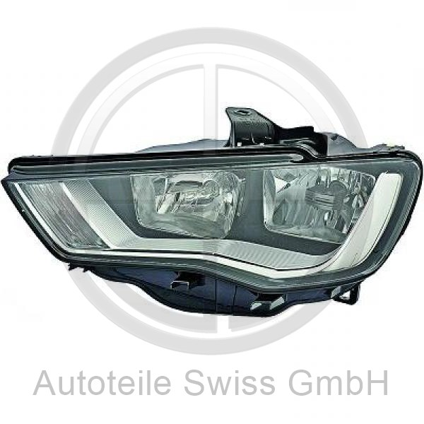SCHEINWERFER LINKS , Audi, A3 Lim./Sportback (Typ8V) 12-16