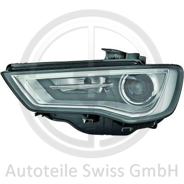BI XENON SCHEINWERFER LINKS, Audi, A3 Lim./Sportback (Typ8V) 12-16