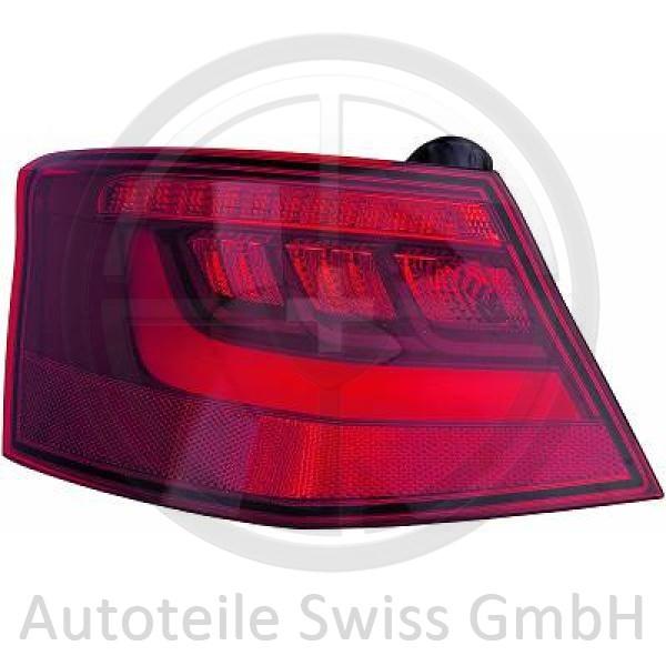 RÜCKLEUCHTE RECHTS AUßEN, Audi, A3 Lim./Sportback (Typ8V) 12-16