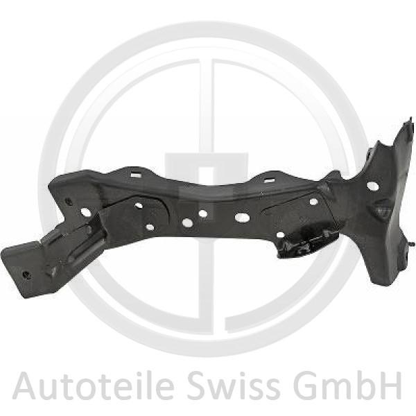 HALTER KOTFLÜGEL VORNE LINKS,, Audi, A3 Lim./Sportback (Typ8V) 12-16