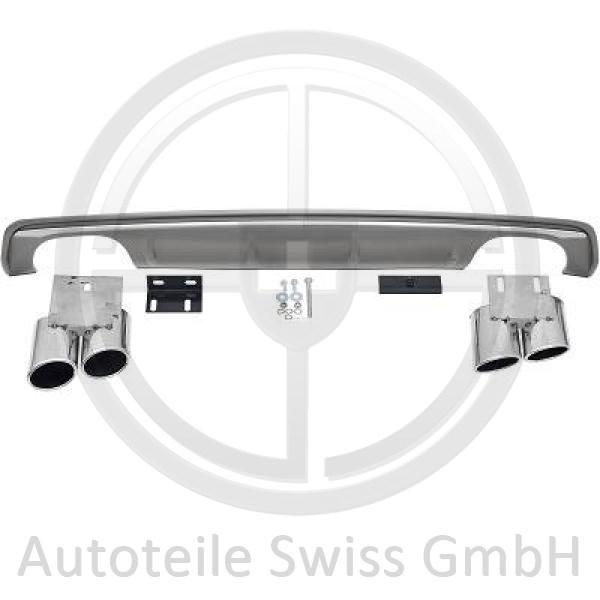 DIFFUSOR STOßSTANGE HINTEN , Audi, A3 Lim./Sportback (Typ8V) 12-16
