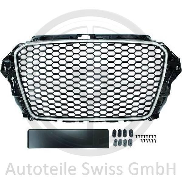 SPORT GRILL , Audi, A3 Lim./Sportback (Typ8V) 12-16