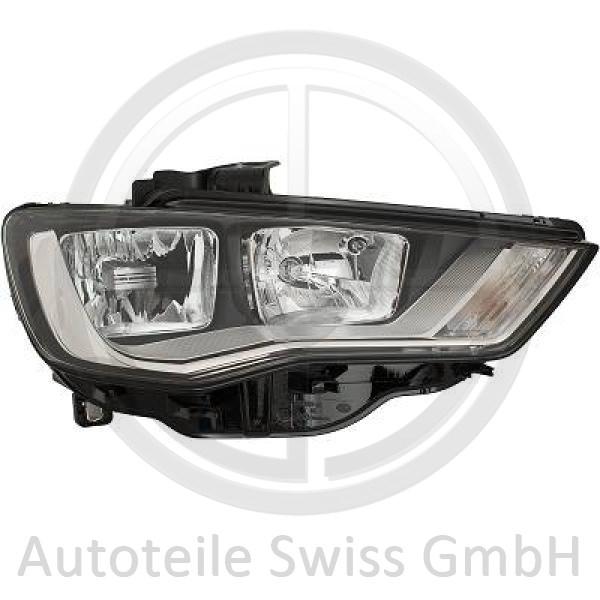 SCHEINWERFER RECHTS , Audi, A3 Lim./Sportback (Typ8V) 12-16