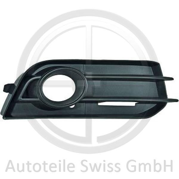 STOßSTANGE GRILL RECHTS , Audi, A1 10-15