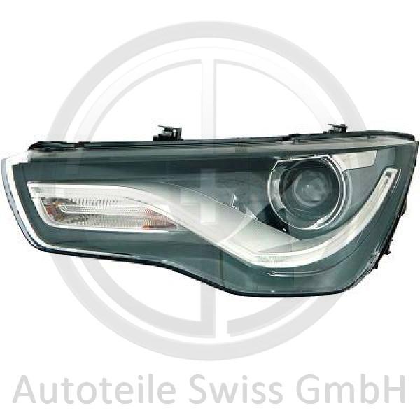XENON SCHEINWERFER RECHTS, Audi, A1 10-15