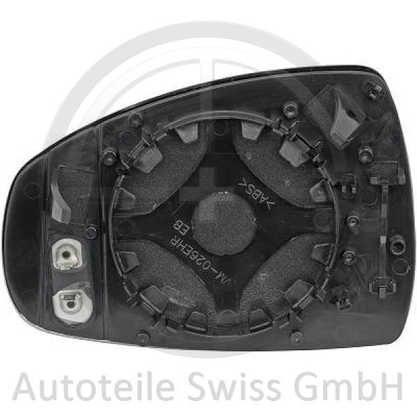 SPIEGELGLAS RECHTS , Audi, A1 10-15