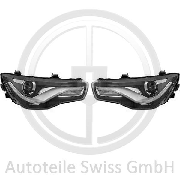 SCHEINWERFER SATZ , Audi, A1 10-15