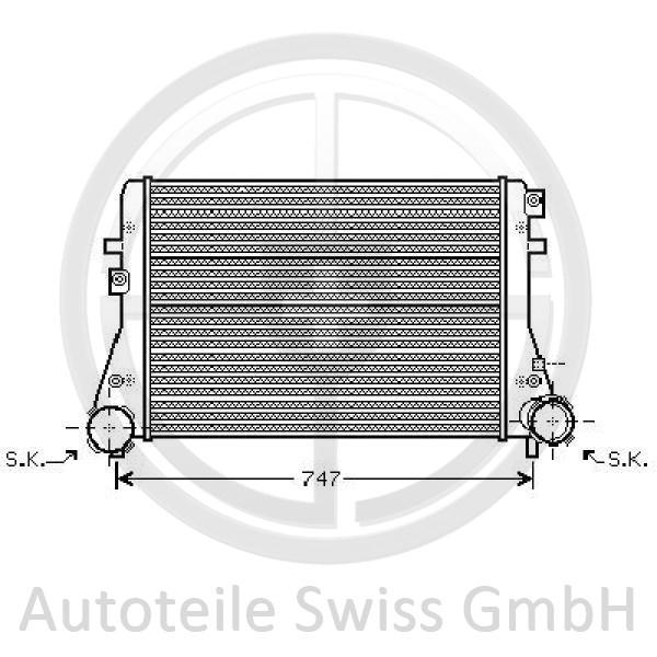 LADELUFTKÜHLER, Audi, A3 03-05