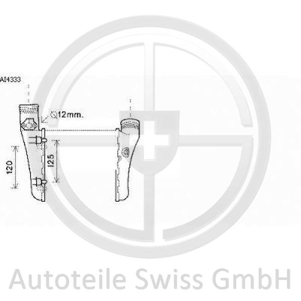 LADELUFTKÜHLER, Audi, A4 Cabrio 01-09