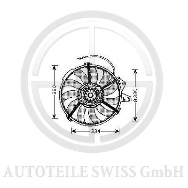 LÜFTER, Audi, A2 00 ->>