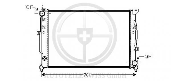 KÜHLER, Audi, A4 Lim/Avant(8D2) 99-00