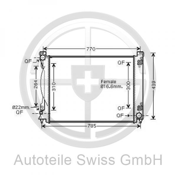 KÜHLER, Audi, A6 (Typ 4F2) 08-10