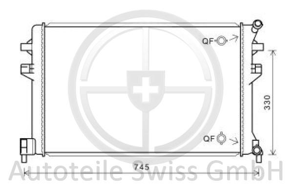 KÜHLER, Audi, A3 Lim./Sportback (Typ8V) 12-16